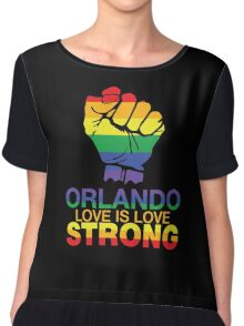 Love Is Love, Orlando Strong Chiffon Top