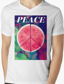 Peace Ep Delicious Mens V-Neck T-Shirt