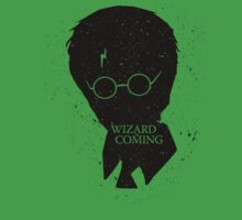 A Wizard Is Coming   Harry Potter   Black by rydrew