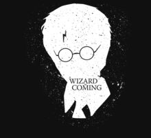 A Wizard Is Coming   Harry Potter   White by rydrew