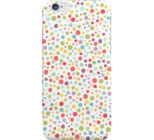 Colorful dot pattern iPhone Case/Skin