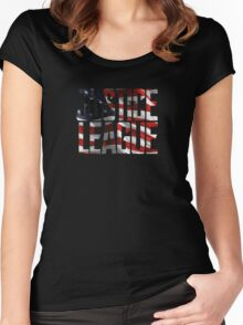 Justice League 001 Women's Fitted Scoop T-Shirt