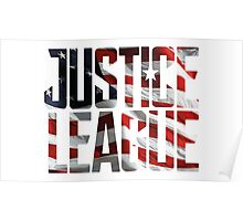 Justice League 001 Poster