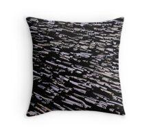 Straws, sticks, abstract pattern Throw Pillow