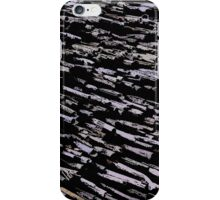 Straws, sticks, abstract pattern iPhone Case/Skin