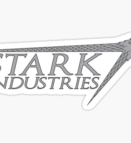 house stark industries Sticker