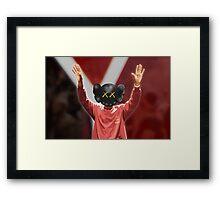 Yeezy Season 3 x Kaws Framed Print