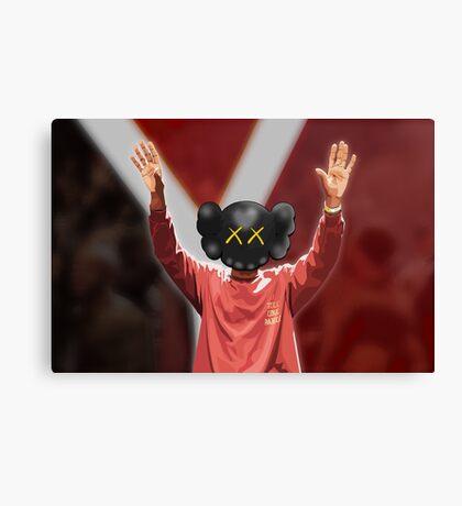 Yeezy Season 3 x Kaws Canvas Print