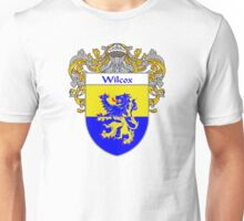 Wilcox Coat of Arms / Wilcox Family Crest Unisex T-Shirt