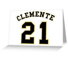 Roberto Clemente #21 Greeting Card
