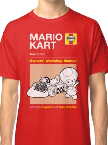 Haynes Manual - Mario Kart Toad - T-shirt Classic T-Shirt
