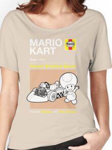 Haynes Manual - Mario Kart Toad - T-shirt Women's Relaxed Fit T-Shirt