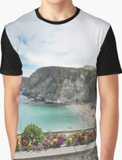 Summer Flowers in St Agnes Graphic T-Shirt