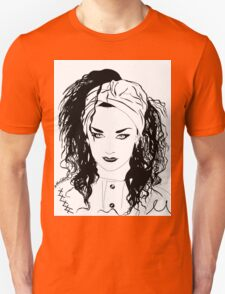 BOY GEORGE (Black & white vers.) Unisex T-Shirt