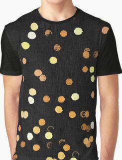 Dots, dots, dots! Abstract light reflection at night Graphic T-Shirt