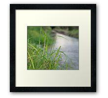 Water Canal  Framed Print