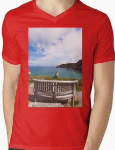 The Best Seat in the House Mens V-Neck T-Shirt