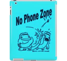 No Phone Zone Apes iPad Case/Skin