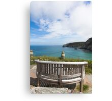 The Best Seat in the House Canvas Print