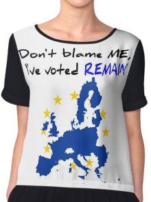 Brexit Chiffon Top