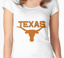 Longhorns of Texas! Women's Fitted Scoop T-Shirt