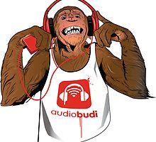 Red Monkey by audiobudi