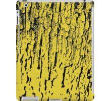 Old tree in yellow, pattern iPad Case/Skin
