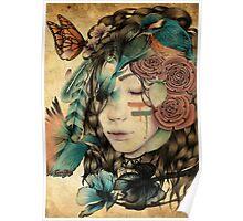 A natural girl Poster