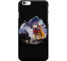 rick and morty Future iPhone Case/Skin