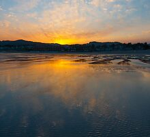 Cannon Beach Reflection at Sunrise by thatche2