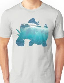 Mega Swampert used Hydro Pump Unisex T-Shirt