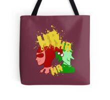 Clown Couple of Crime Tote Bag
