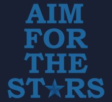 Aim for the Stars (Blue) by ezcreative