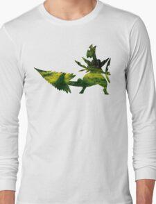 Mega Sceptile used Leaf Storm Long Sleeve T-Shirt