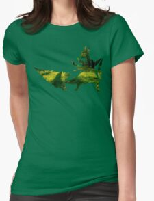 Mega Sceptile used Leaf Storm Womens Fitted T-Shirt