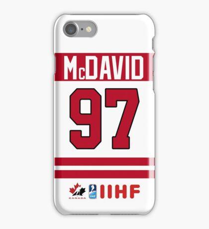 Connor McDavid Team Canada iPhone Case/Skin