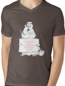 Sind Keksdiebe eigentlich krümelnell? Mens V-Neck T-Shirt