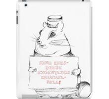 Sind Keksdiebe eigentlich krümelnell? iPad Case/Skin