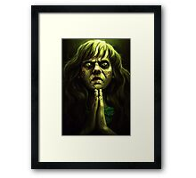 An excellent day for an Exorcism. Framed Print