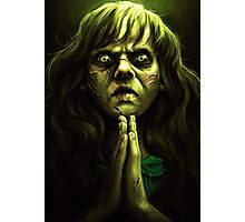 An excellent day for an Exorcism. Photographic Print