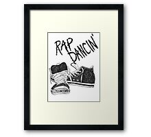 Rap Dancin' Framed Print