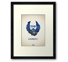 Icons - Allen Ginsberg Framed Print