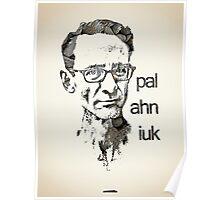 Icons - Chuck Palahniuk Poster