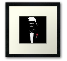 The Father Darth Vader ! Framed Print