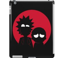 rick and morty japan iPad Case/Skin