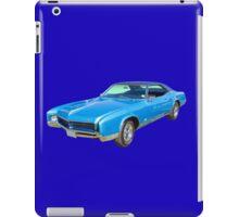 Blue 1967 Buick Riviera Muscle Car iPad Case/Skin