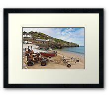 The Workhorses of St Agnes Framed Print