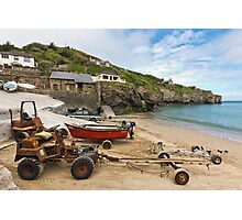 The Workhorses of St Agnes Photographic Print