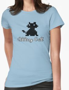 ALLEY CAT - DOS PC GAME Womens Fitted T-Shirt