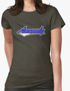 Anomaly Stripes Blue Womens Fitted T-Shirt